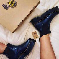 Dr.Martens Quad Smoth Black Special Price Shop online: www.moodluxurytorino.com Spedizione gratuita H24 in tutta Italia 🇮🇹  #drmartens #quad #black #smooth #lady #boots #fashion #shoes #musthave #love #shopping #natale #boutiquetorino