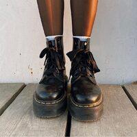 Dr.Martens  Molly Buttero Black  Shop online: www.moodluxurytorino.com Spedizione gratuita H24  in tutta Italia 🇮🇹  # drmartens #molly #rock #black #fashion #glamour #style #shoes #boots #musthave #lady #love #shopping #boutiquetorino